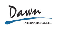 Link back to home page - Dawn International Logo